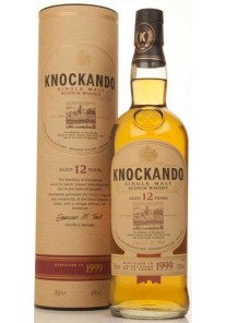 Whisky Knockando Single Malt 12 anni 2003 0,70 lt.