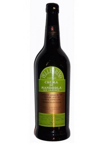 Marsala Pellegrino Crema Di Mandorla liquoroso - 0,75 lt.