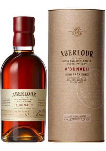 Whisky Aberlour Single Malt A\' Bunadh 0,70 lt.