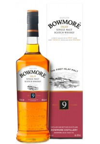 Whisky Bowmore 9 Anni Sherry Cask Matured 0,70 lt.