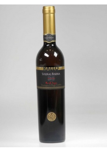 Marsala Rallo Vergine Soleras Ris. 20 anni liquoroso  0,500 lt.