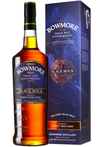 Whisky Bowmore Single Malt Black Rock Finest Oak 1 lt.