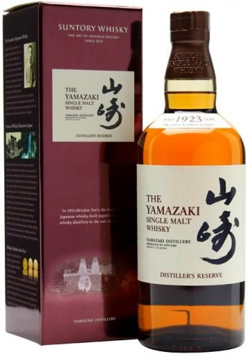 Whisky The Yamazaki Distillers Reserve Single Malt 0,70 lt.