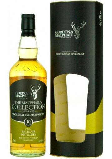 The Macphail\'s Collection from Balblair Distillery 10 Anni 0,70 lt.