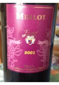 Merlot Fazio 2001 0,75 lt.