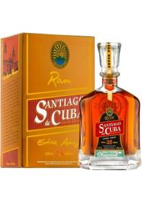 Rum Santiago de Cuba extra Anejo 25 Anni 0,70 lt.