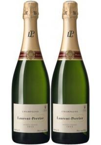 Champagne Laurent Perrier Brut Confezione 2 Bottiglie 0,75 lt.
