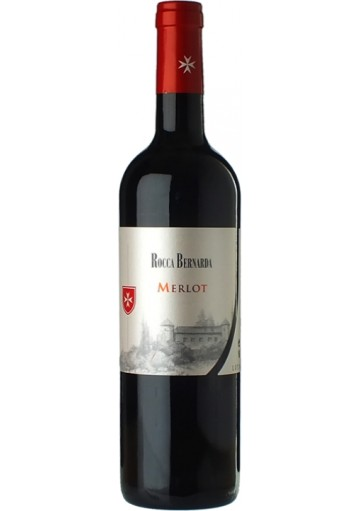 Merlot Rocca Bernarda 2016 0,75 lt.